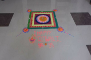 P N National Public School-Diwali Celebrations