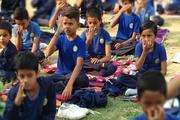 Sanskar Public School-yoga