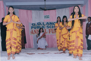 GD Lancers Public School-Classical dance