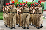 Aditya Army Public School-NCC