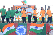 Arya Vidya Mandir Senior Secondary School-Independence day