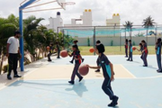 Chrysalis High-Basketball Court
