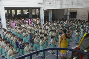 Mandara Jnanadayini School-Assembly