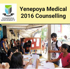 Yenepoya Medical 2016 Counselling