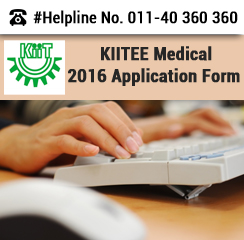 KIITEE Medical 2016 Application form