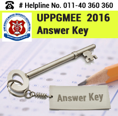 UPPGMEE 2016 Answer Key