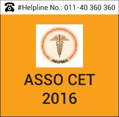 ASSO CET 2016