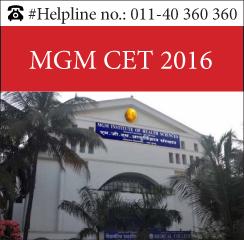 MGM CET 2016