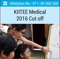KIITEE Medical 2016 Cutoff