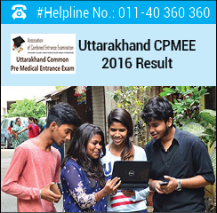 Uttarakhand CPMEE 2016 Result