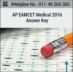 AP EAMCET Medical 2016 Answer Key
