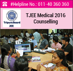 TJEE Medical 2016 Counselling