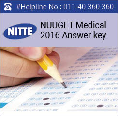 NUUGET Medical 2016 Answer key