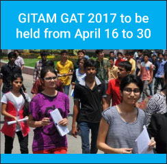 GITAM GAT 2017 to be held online from April 16 to 30