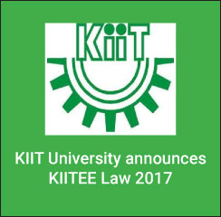 KIITEE Law 2017: Application begins; exam between April 16 and 19