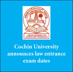 CUSAT CAT Law: Cochin University to conduct online exam; announces exam dates