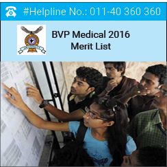BVP Medical 2016 Merit List