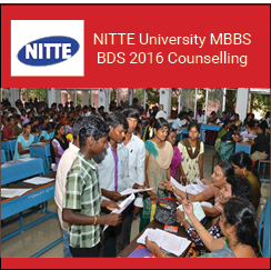 NITTE University MBBS BDS 2016 Counselling