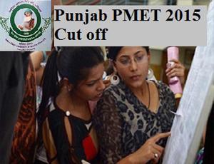 Punjab PMET 2015 Cut off