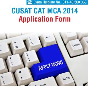 CUSAT CAT MCA 2014 Applications