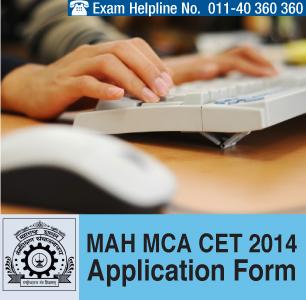 MAH MCA CET 2014 Application Form
