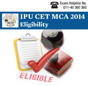 IPU CET MCA 2014 Eligibility