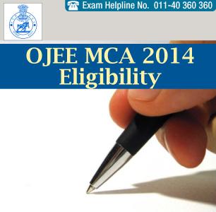 OJEE MCA 2014 Eligibility