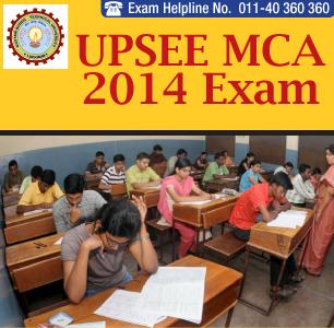 UPSEE MCA 2014 Paper Pattern