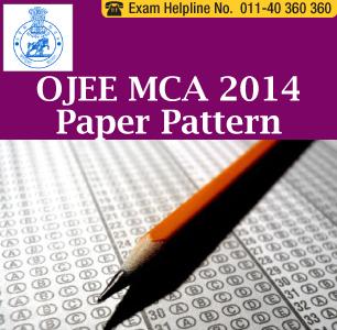 OJEE MCA 2014 Paper Pattern