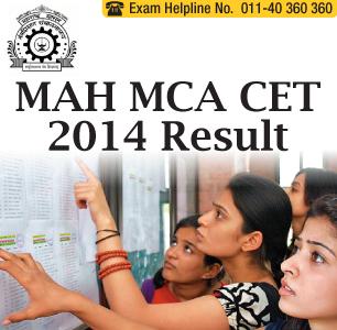 MAH MCA CET 2014 Result