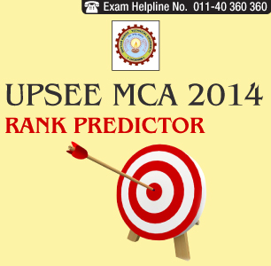 UPTU-UPSEE MCA 2014 Rank Predictor