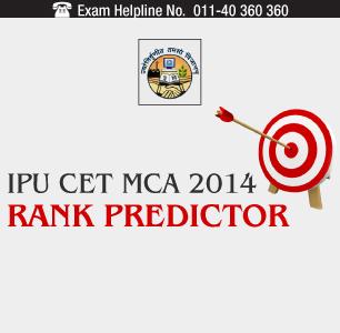 IPU CET MCA 2014 Rank Predictor