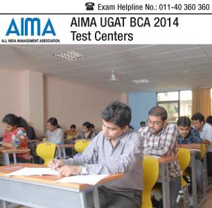 AIMA UGA BCA 2014 Test Centers