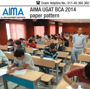 AIMA UGAT BCA 2014 Paper Pattern