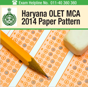 Haryana OLET MCA 2014 Paper Pattern