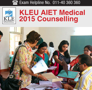 KLEU AIET 2015 2015 Counselling