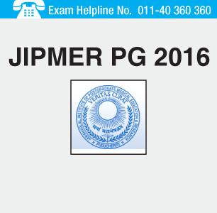 JIPMER PG 2016