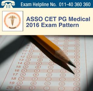 ASSO CET PG Medical 2016 Exam Pattern