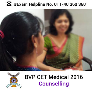 BVP CET Medical 2016 Counselling