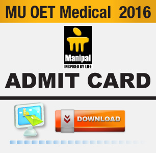 MU OET Medical 2016 Admit Card