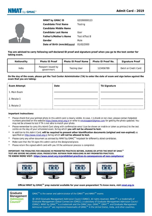 NMAT-admit-card-2019