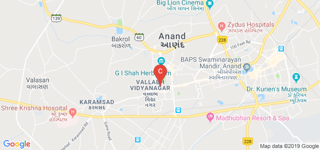 AR College of Pharmacy and GH Patel Institute of Pharmacy, Vallabh Vidyanagar