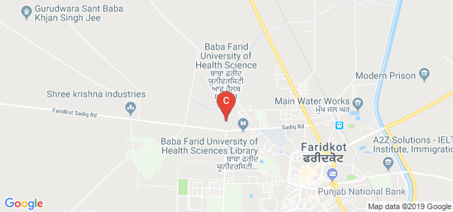 Baba Farid University of Health Sciences, Faridkot