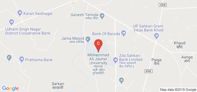 Mohammad Ali Jauhar University, Rampur