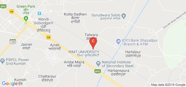 RIMT University, Gobindgarh