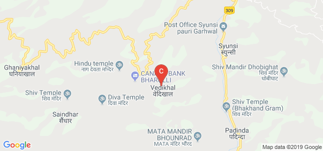 Dr. S.S.N GOVERNMENT DEGREE COLLEGE, Vedikhal, Uttarakhand, India