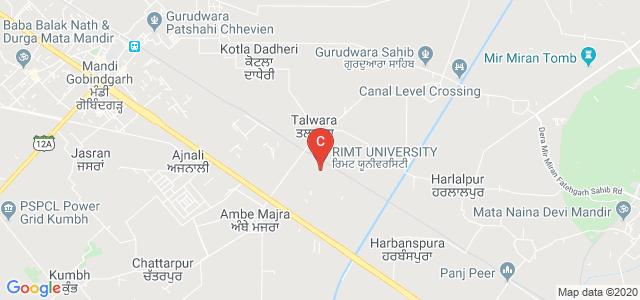 RIMT UNIVERSITY, Mandi Gobindgarh, Punjab, India