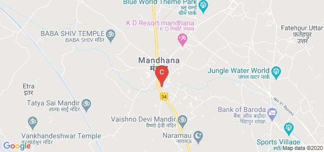 Maharana Pratap College Of Pharmaceutical Sciences, Kothi, Mandhana, Kanpur Nagar, Uttar Pradesh, India