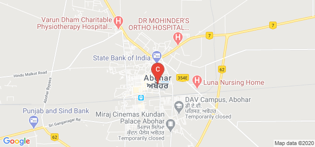 Homoeopathic Medical College & Hospital, Main Bazar, Abohar, Punjab, India