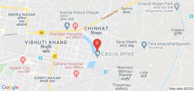 Manyawar Kanshiram Institute of Tourism Management, Vikalp Khand, Gomti Nagar, Lucknow, Uttar Pradesh, India